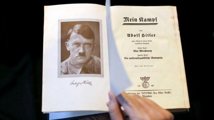 Hitler'in kitabı İsrail'de bir kitapçıda 'satışta'