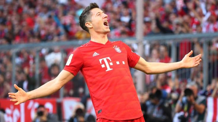 Lewandowski, Alman liginde tarihe geçti
