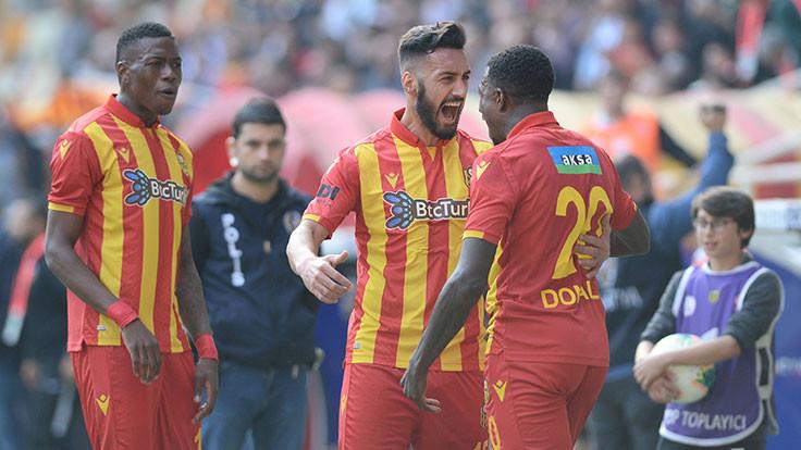 Yeni Malatya evinde farklı kazandı: 4-0
