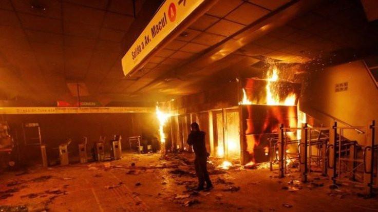 Zamma isyan: Santiago'da OHAL ilan edildi
