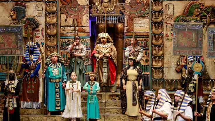 Aida Operası sahneleniyor