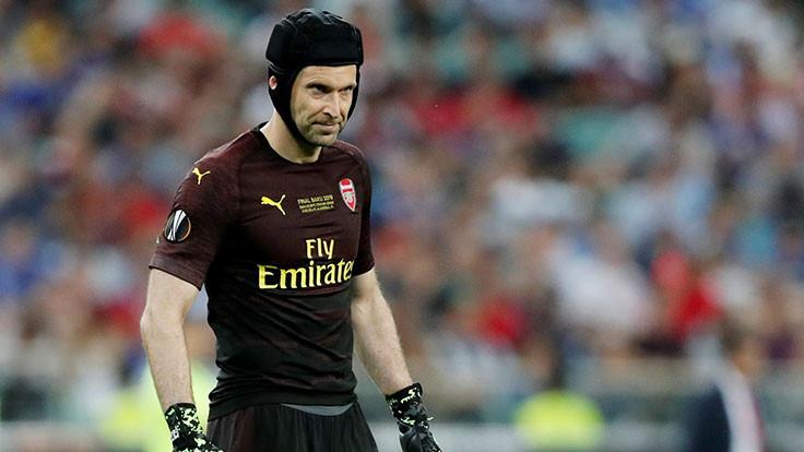 Petr Cech hokeyci oldu