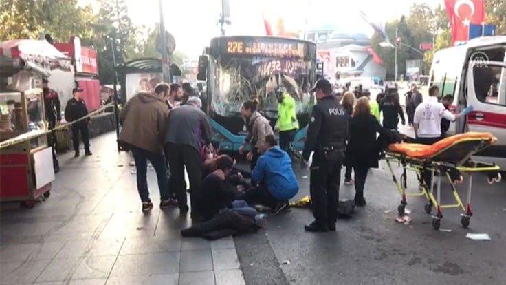 Beşiktaş'ta otobüs sürücüsü dehşet saçtı: 13 yaralı