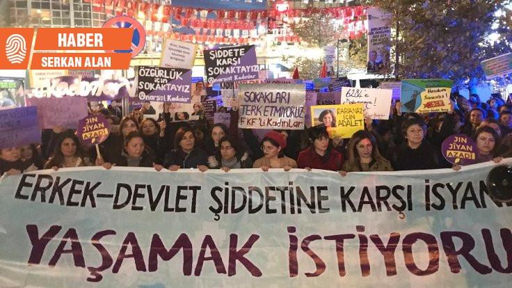 Kadınlar Ankara'da yürüdü: Yaşamak istiyoruz!