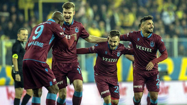 Trabzonspor, 3 puanı 3 golle aldı