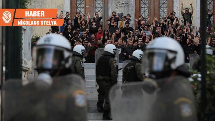 Yunanistan'da üniversitelerde isyan