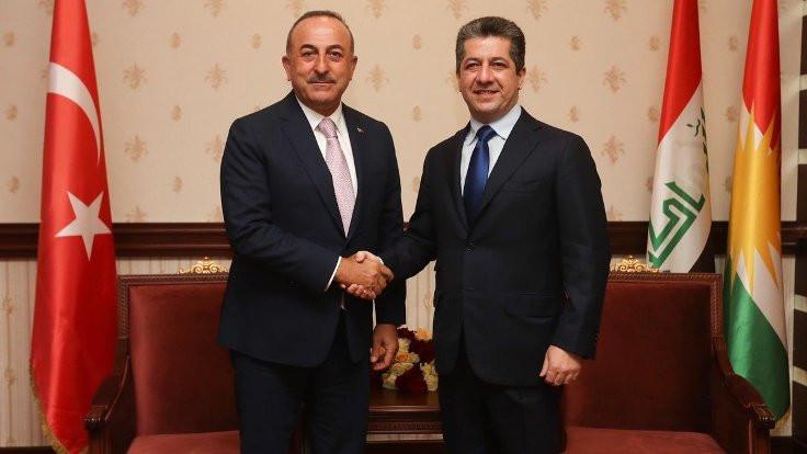 Mesrur Barzani Türkiye'ye geldi