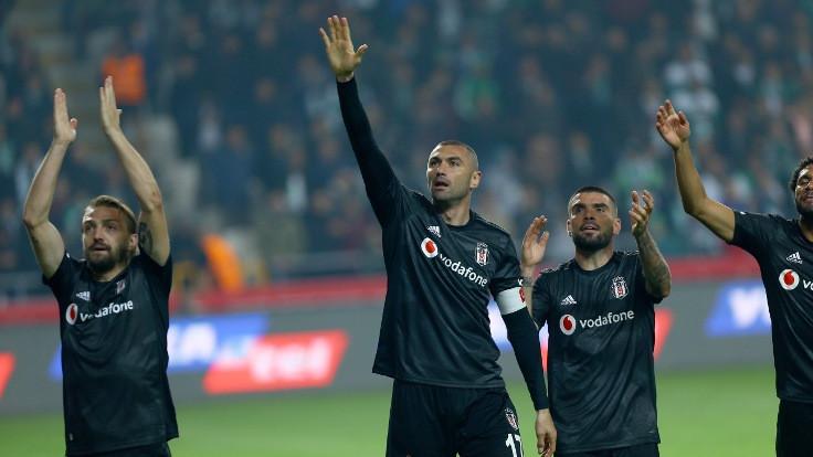 Beşiktaş'tan üst üste dördüncü galibiyet
