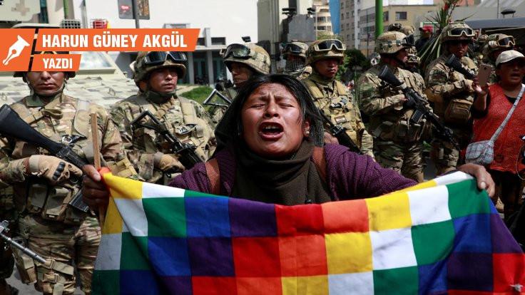 Devrimler labirentindeki Latin Amerika