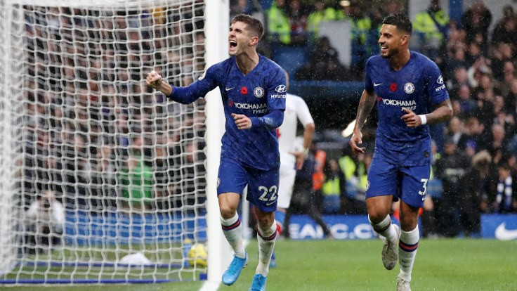 Chelsea ikinci yarıda attığı gollerle kazandı