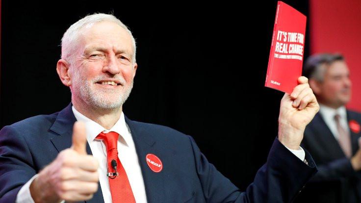 İşçi Partisi'nden 'Umudun Manifestosu': Corbyn 'yeşil sanayi devrimi' vaat etti