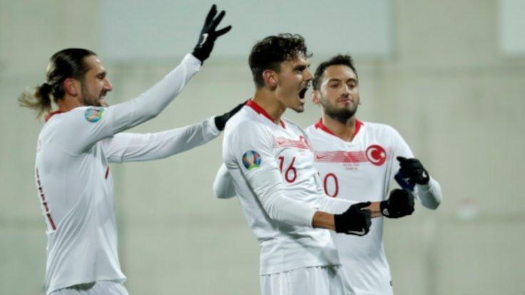 Türkiye grubu ikinci bitirdi: Andorra 0 - Türkiye 2