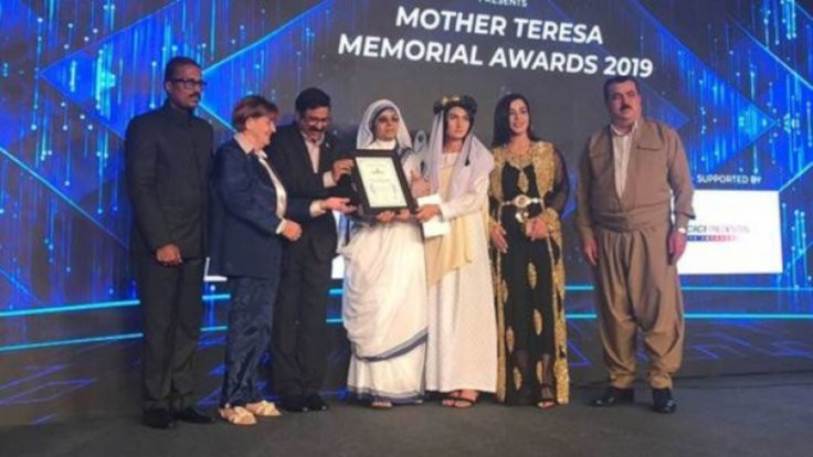 Rahibe Terasa Ödülü 'Ezidileri Kurtarma Ofisi'ne
