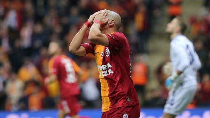 Galatasaray, 41 maç sonra evinde kaybetti