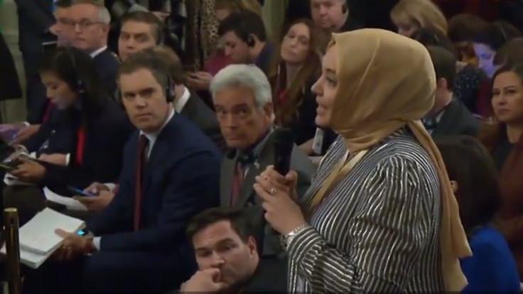Hilal Kaplan: Bir soru sordum Trump yanıt veremedi