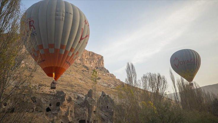 Kayseri'de ilk balonlar uçuruldu