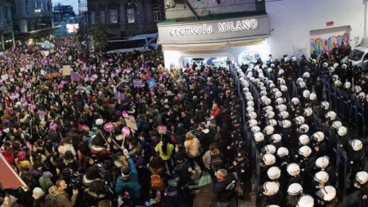 Taksim'de kadınların eylemine yasak kararı