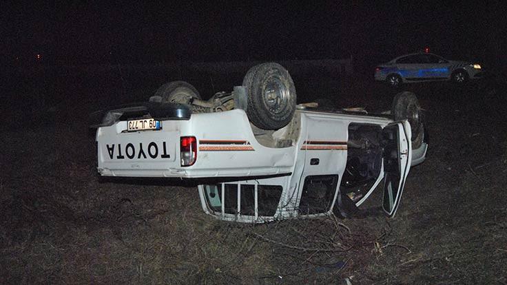 İzmir'de kaza: Dört yaralı