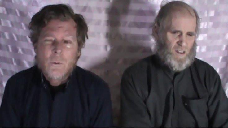 Afganistan'la Taliban arasında takas: İki Batılı esir kurtarılacak