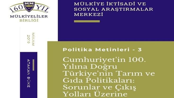 Türkiye'nin Tarım ve Gıda Politikaları: Toplum her alanda iflasın eşiğine sürüklenmiş