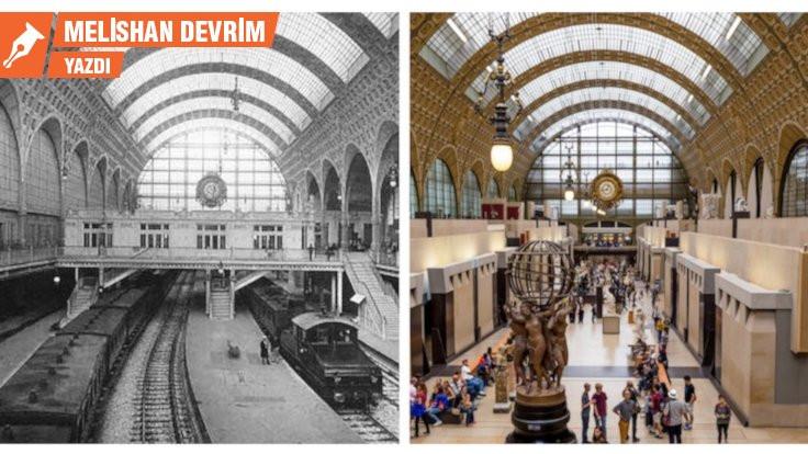 İstasyondan müzeye: Orsay