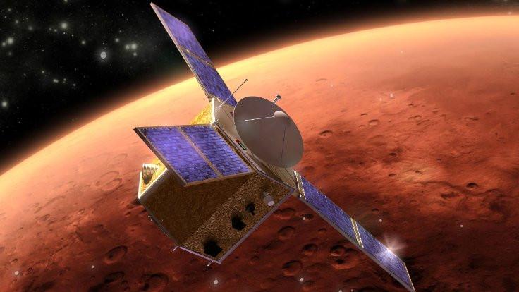 Mars'a gözlem uydusu gönderdiler