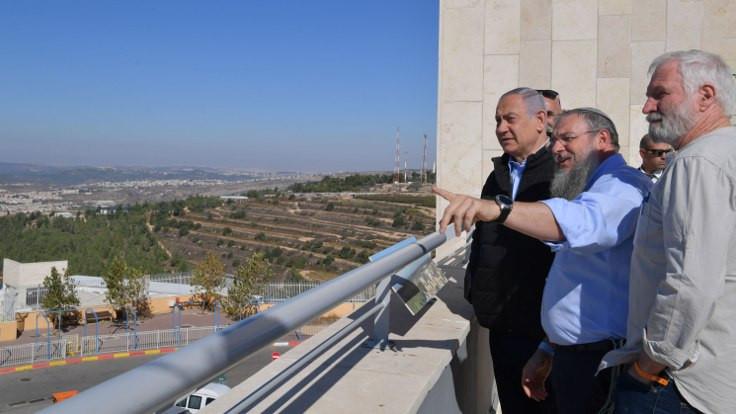 Netanyahu, Batı Şeria'daki Yahudi yerleşim yerlerini ziyaret etti