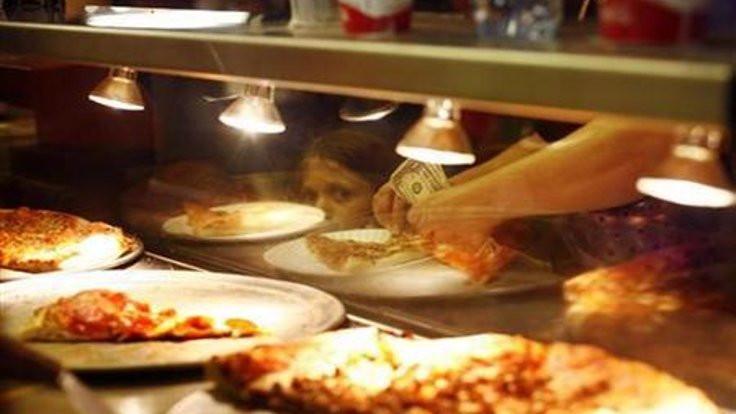 Erkek şiddetini 'pizza siparişi' ile önledi