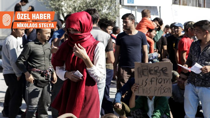 Yunanistan'da mültecilere polis saldırdı