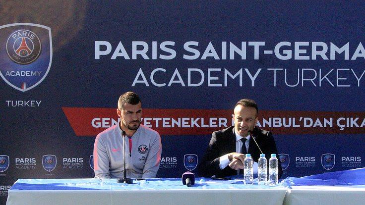 Paris Saint-Germain, İstanbul'da futbol akademisi açtı