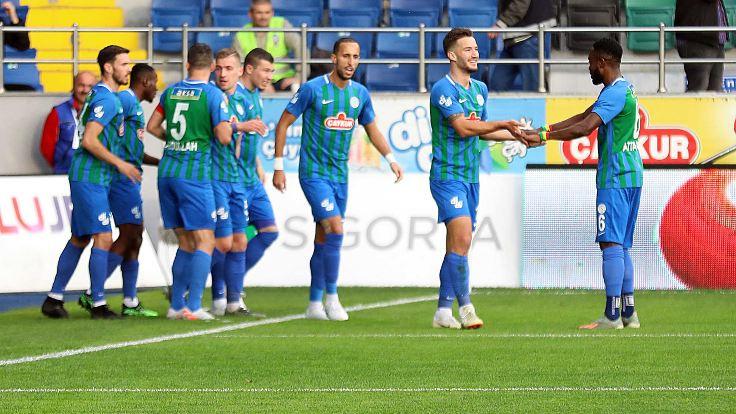 4 gollü maçta kazanan Rizespor