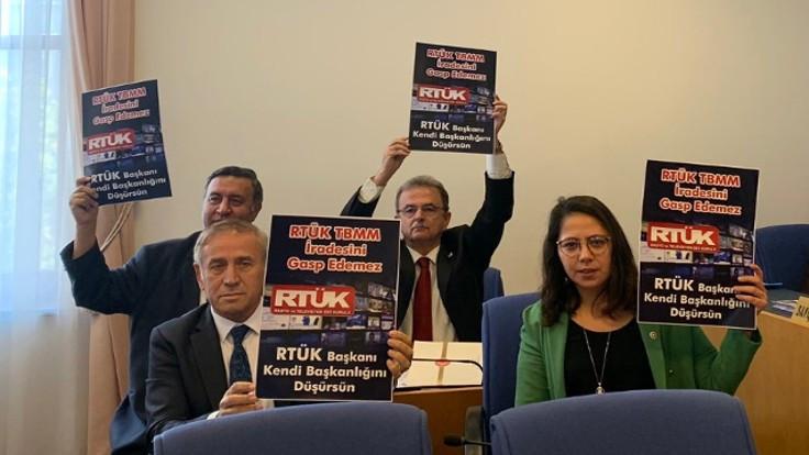 CHP'den RTÜK Başkanı Ebubekir Şahin'e tepki