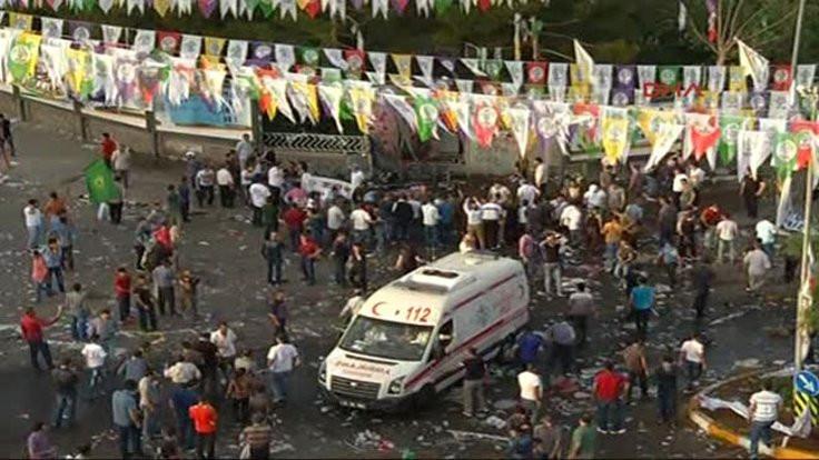 HDP mitingine saldırı davasında müebbet talebi