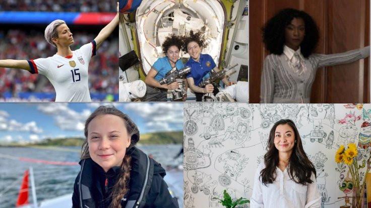 2019'un kadınlar için en unutulmaz anları