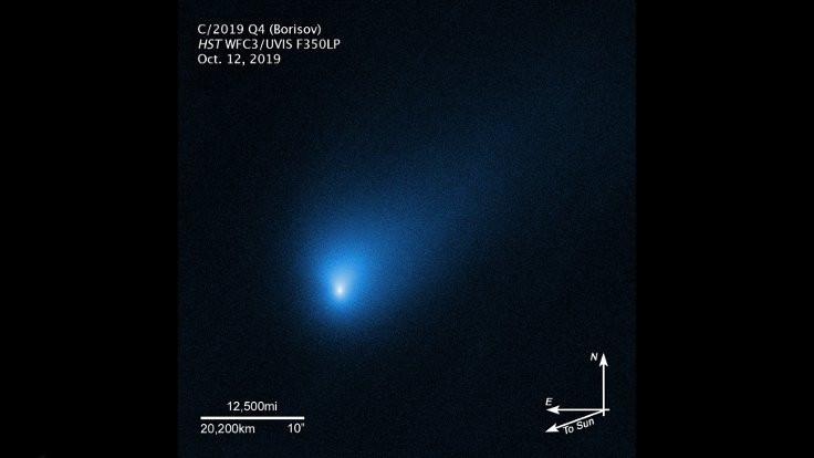Yıldızlar arası ziyaretçinin net fotoğrafı çekildi