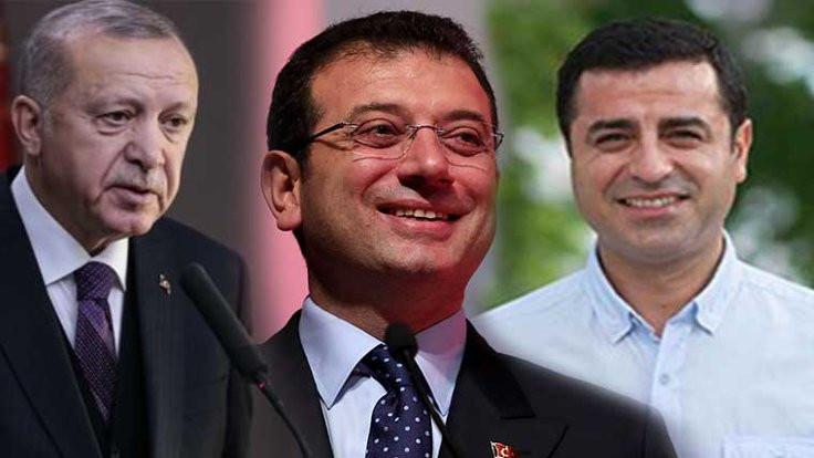 AK Parti anketinde Demirtaş ve İmamoğlu sürprizi