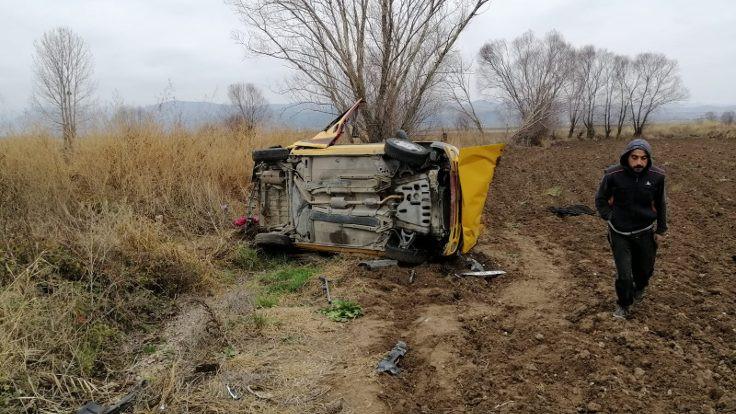 Amasya'da kaza: 7 yaralı