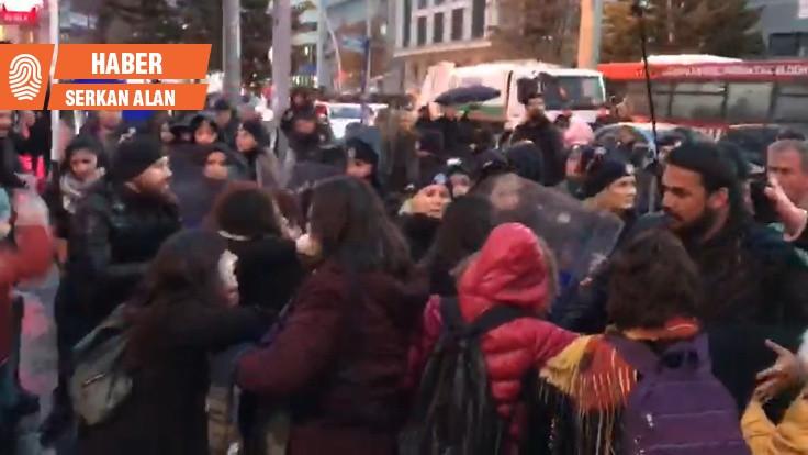 Ankara'da kadın eylemine izin verilmedi