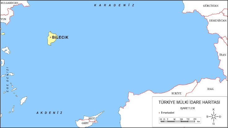Bilecik Belediyesi'nden Kanal İstanbul esprisi