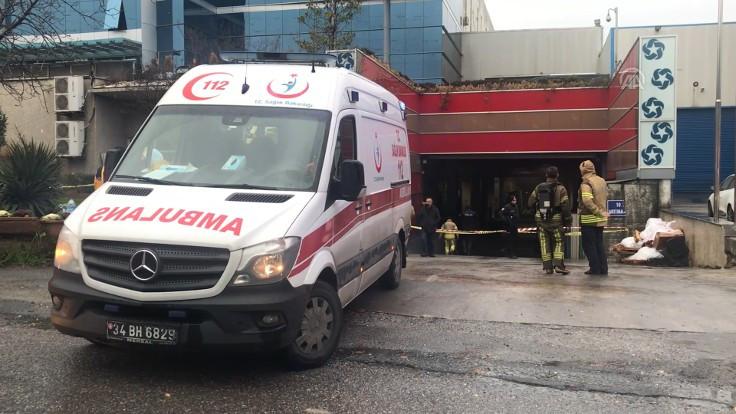 Cam fabrikasında patlama: 1 ölü 7 yaralı