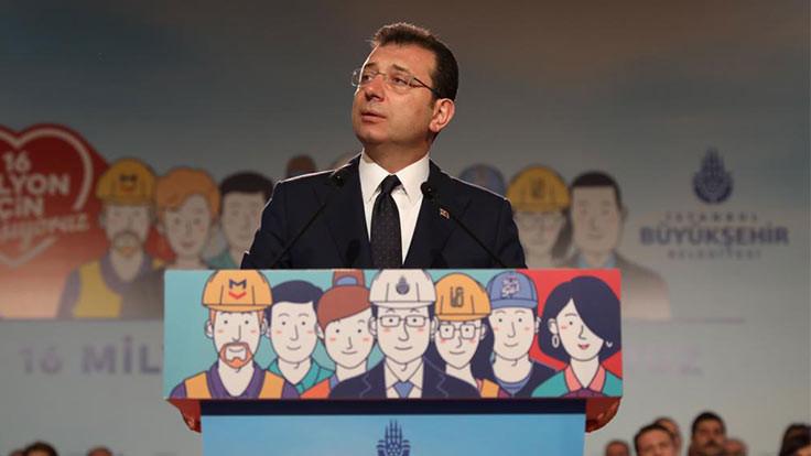 Ekrem İmamoğlu: Kanal İstanbul protokolünden çekiliyoruz