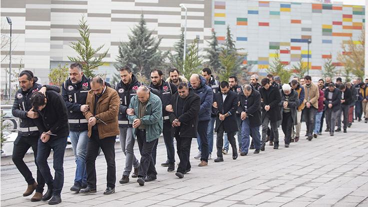 Ankara'da toplam 181 kişi gözaltına alındı