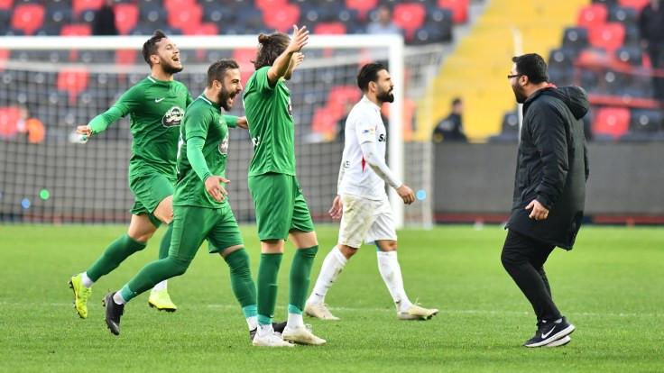 Kırklarelispor, deplasman golü avantajıyla Gaziantep FK'yi eledi