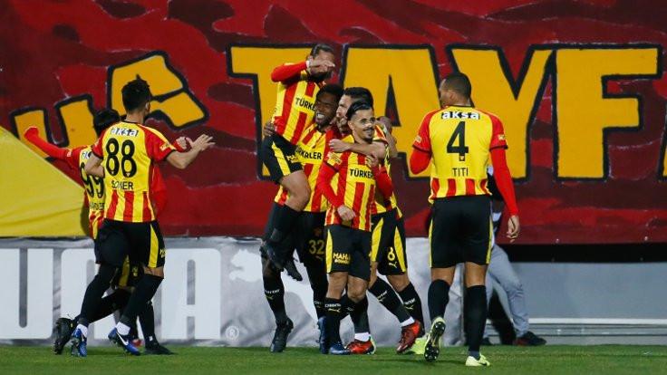 Göztepe Galatasaray'ı mağlup etti