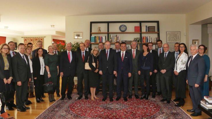 AB büyükelçileri, İmamoğlu ile buluştu