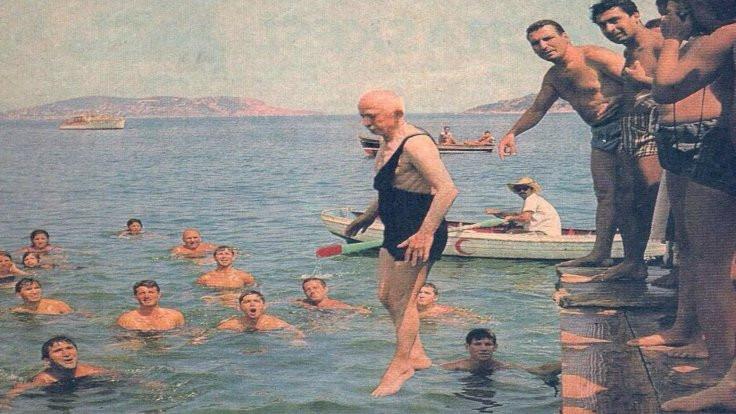 İnönü'nün plajına da çivi çakılıyor