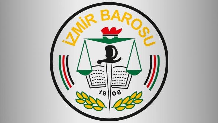 İzmir Barosu'ndan BİK'e kınama