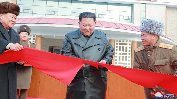 Kim Jong-un spa merkezi açtı