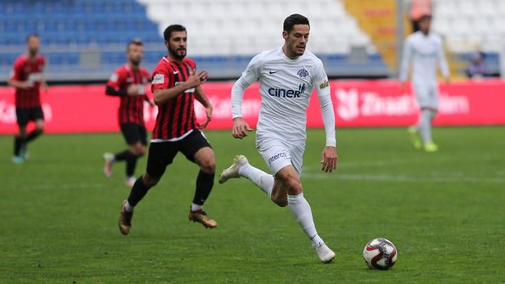Kasımpaşa, geriye düştüğü maçta Vanspor'u mağlup etti