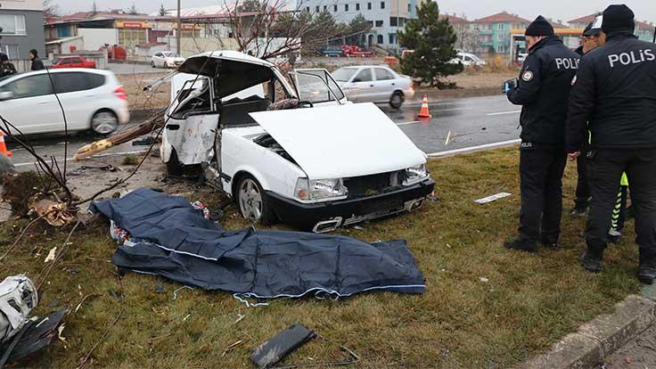 Kütahya'da kaza: 2 ölü, 3 ağır yaralı